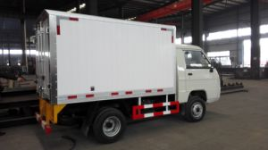 Large Capacity Dongfeng 4X2 190HP Refrigerator Truck pictures & photos