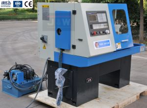 Hydraulic Flat Bed CNC Lathe (SK6136B) pictures & photos