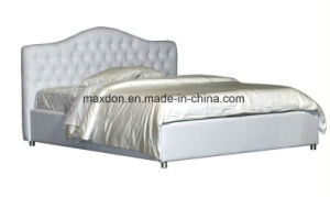 Best Sale Soft Comfortable Classic Leather Bed (MB56) pictures & photos