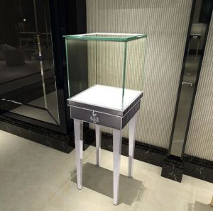 Cosmetics Glass Showcase for Display (GR-A13) pictures & photos