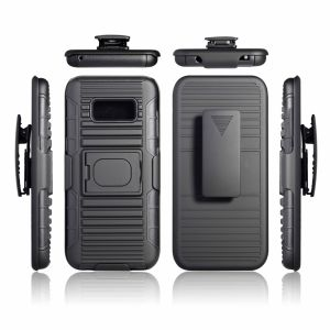 Hybrid Ring Robot Kickstand Rubber Armor TPU PC Phone Case for Samsung S8/S8 Plus pictures & photos