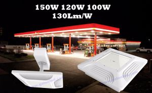Energy Saving Public Canopy Commercial Lighting High Quality Gas Station LED Light Retrofit Kit pictures & photos