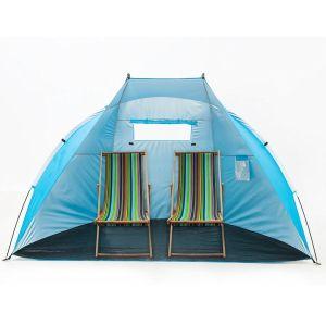 "Easyup Outdoor Portable Beach Cabana Tent Sun Shelter (Sunshade, Blue, 94.5""L X 47.2""W X 55""H) pictures & photos"