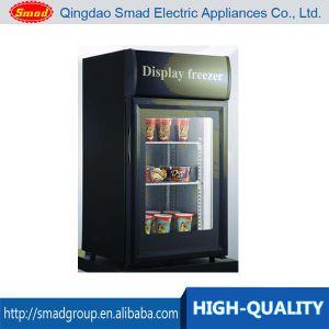 Countertop Mini Ice Cream Display Freezer Price pictures & photos