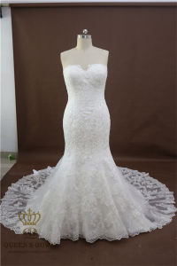 2017 Sexy Lace Mermaid Wedding Dresses with Backless Bridal Gown Custom Made pictures & photos