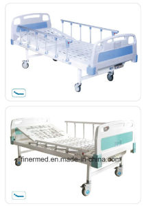 Standard One Manual Crank Nursing Care Bed for Hospital pictures & photos