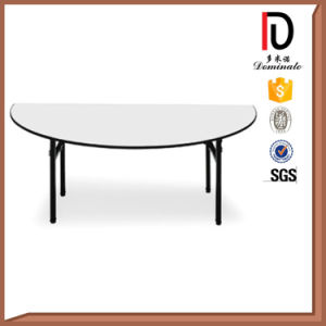 Wholesale Foldable Half Round Banquet Table pictures & photos