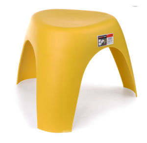 New Design Fashion Triangle Plastic Stool Chair with Artistic Flavor pictures & photos