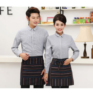 Custom Durable Washable Chef Shirt Bar Restaurant Waiter Uniforms pictures & photos