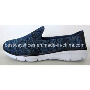 Woman Sports Footwear Flyknit Shoes Ladies Shoes Slip-on Shoes pictures & photos