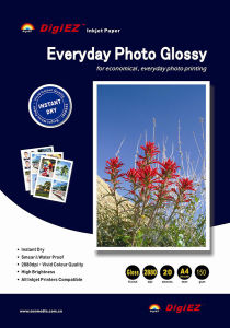 260 GSM Premium Photo Quality 4r Glossy Inkjet Photo Paper pictures & photos
