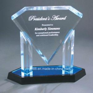 Custom Acrylic Crystal Trophy for Souvenir pictures & photos