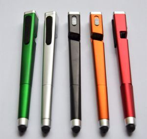The Stylus Touch Pen Itl4010 with One LED and Cellphone Stand pictures & photos