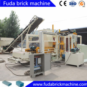 Automatic Concrete Square Paver and Habiterra Block Machine with Hydraulic pictures & photos