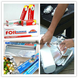 8011-O 0.011mm High Quality Household Aluminium Foil for Packaging pictures & photos