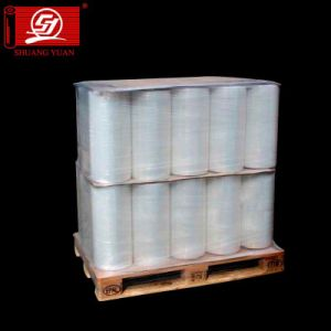 Super Adhesive 25 Micron Pallet Packing Wrap Film pictures & photos