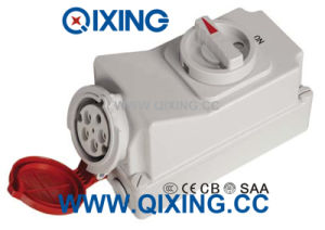 32A 5p Red Waterproof Switch and Socket pictures & photos