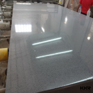 Glass Crystal Stone White Quartz Tiles Quartz Stone pictures & photos