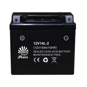 Sealed Maintenance Free Motorcycle Battery in High Starting Performance with CE UL Certificate Corresponding to Ytx Series pictures & photos