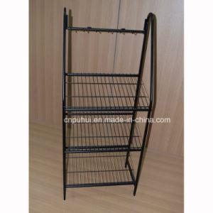 Floor Standing Metal Belt Display Rack (pH15-110) pictures & photos