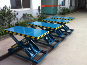 Stationary Hydraulic Scissor Lift Table Manufacturer (SJG0.5-1) pictures & photos