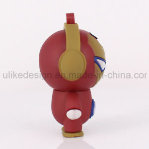 Cuty Iron Man PVC USB Flash Drive (UL-PCV016) pictures & photos
