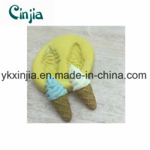 Kitchenware Summer Silicone Ice Cream Mould with Ice Cream Sxjt1 pictures & photos