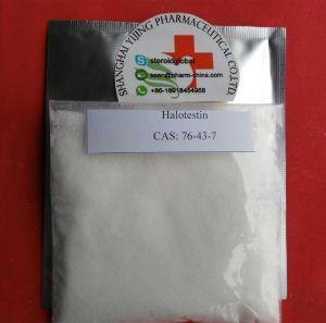 Medicine Muscle Building Steroids Powder Halotestin CAS 76-43-7 pictures & photos
