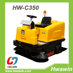Compact Electric Ride on Road Sweeping Machine pictures & photos
