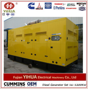 Hot Sale 500kw Cummins Diesel Generator Set with ATS pictures & photos