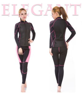 Anti-UV Smooth Skin Neoprene Women Scuba Diving Wetsuit (big discount)