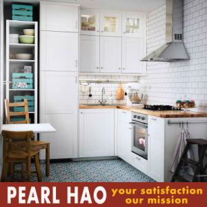 White Blister MDF Storage Kitchen Cabinet Furniture pictures & photos
