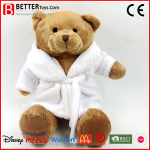 Plush Teddy Bear Soft Toy in Bathrobe for Kids pictures & photos