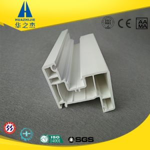 High Quality Low Cost White Plastic Extrude PVC Window Profile pictures & photos