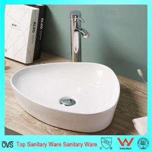 Contemporary Design Thin Edge Bathroom Wash Basin Ceramic Basin pictures & photos
