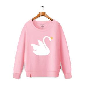Custom Printed Pink Cotton Fleece Kid Hoody Pullover Children Sweatshirt pictures & photos