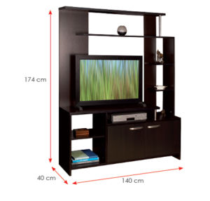 Modern MFC Laminated Wooden Cabinet TV Stands (HX-DR226) pictures & photos