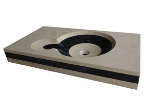 Marble Sanitaryware Wash Basin Wb-006 pictures & photos