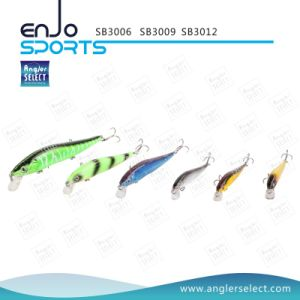 Plastic Artificial Bait Top Water Fishing Lure with Vmc Treble Hooks (SB3009) pictures & photos