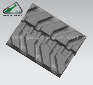 400*72.5W*74 Replacement Excavator Tracks Good Quality Rubber Tracks Bobcat Case Ihi Tracks pictures & photos