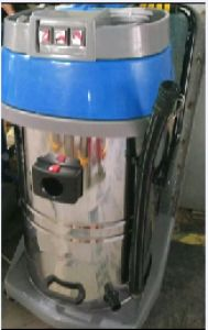 Hot Sale 80L Dark Blue Three Motors Wet and Dry Industrial Vacuum Cleaner with Good Quality pictures & photos