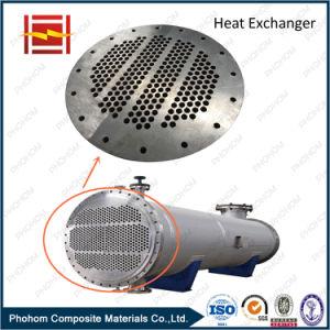 Bimetal Tube Sheet with Carbon Steel Cladding Titanium for Tube Heat Exchanger pictures & photos