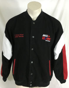 Wholesale Black Varsity Embroidery Jacket (A680) pictures & photos