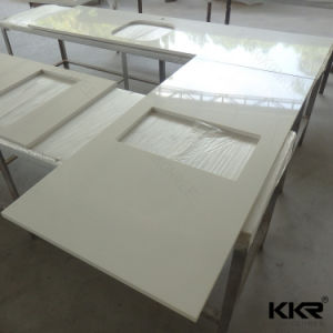 60′′ 2cm Thick Quartz Marble Stone Kitchen Counter (C1705101) pictures & photos