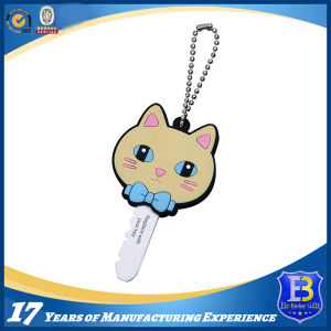 3D Figure Rubber PVC Keychain pictures & photos