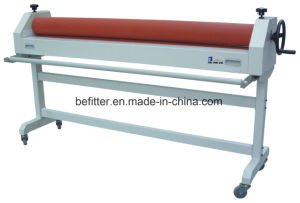 TSS1600 63inch manual cold laminator with support stand pictures & photos