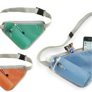 Fashion Travel Waterproof Running Kettle Pocket Outdoor Sports Multifunctional Triangle Pocket Digital Custom Logo Waist Bag pictures & photos