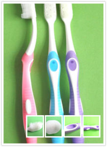 2015 New Toothbrushes with Massager pictures & photos