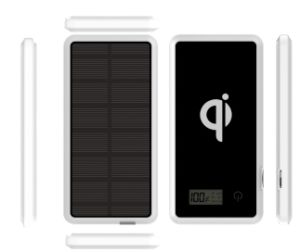 Portable Mini Solar Mobile Power Bank with Wireless Card pictures & photos