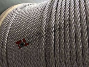 Stainless Steel Wire Rope 7*37 pictures & photos